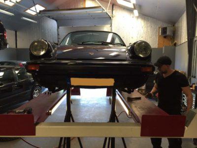 APK keuring van Porsche 911